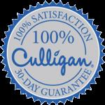 100% satisfaction 30-day guarantee culligan seal