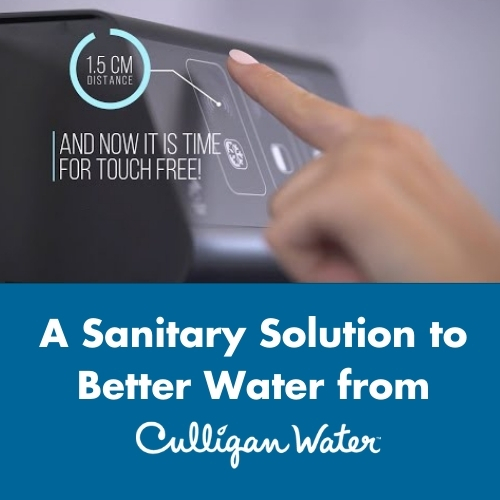 touch free water cooler