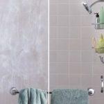 soap scum on shower
